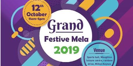 Grand Diwali Mela & Shopping Extravaganza 2019 tickets