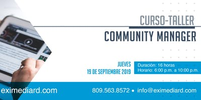 CURSO-TALLER COMMUNITY MANAGER