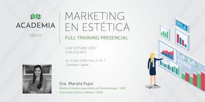 Curso Marketing en Estética