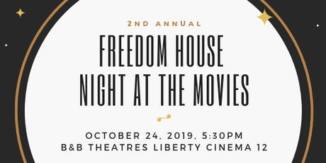 Freedom House Night at the Movies tickets