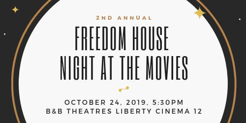 Freedom House Night at the Movies