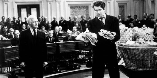 35mm screening of Frank Capra's MR. SMITH GOES TO WASHINGTON