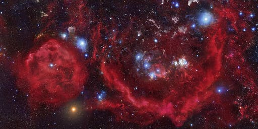 Icy Birth, Fiery Death: The Life Cycle of Stars - Tuesday October 15, 2019