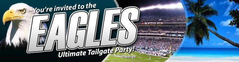 Eagles Tailgate Party with a live DJ - Video Game Truck & Bouncey house