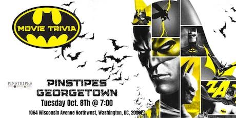 Batman Movie Trivia at Pinstripes Georgetown tickets