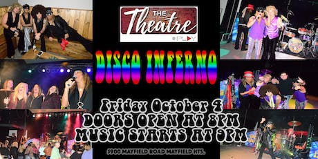Disco Inferno in The Theatre @ Play on October 4 tickets