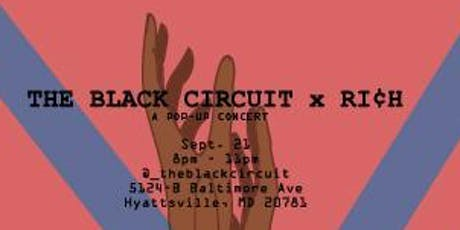 Black Circuit X Rich tickets
