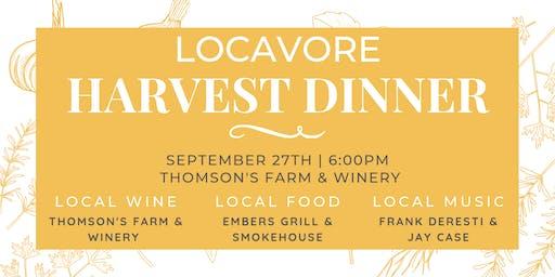 Locavore Harvest Dinner