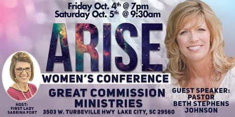 Great Commission Ministries Arise Women's Conference tickets