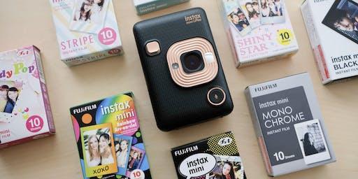 Photowalk: Instant Film Fun with Fujifilm Instax!