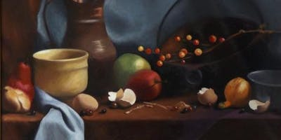 2 Days: Painting & Drawing Intensive II: Atmosphere, Chiaroscuro, Composition Abstraction & Color Accuracy w/ Janan Stiles