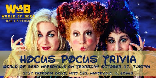 Hocus Pocus Trivia at World of Beer Naperville