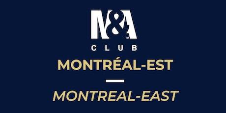 M&A Club Montréal-Est : Réunion du 16 octobre 2019/Meeting October 16, 2019 tickets