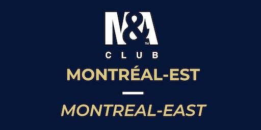 M&A Club Montréal-Est : Réunion du 16 octobre 2019/Meeting October 16, 2019