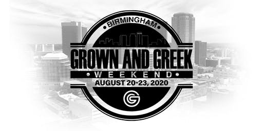 Grown and Greek Weekend 2020 (Birmingham, Alabama)