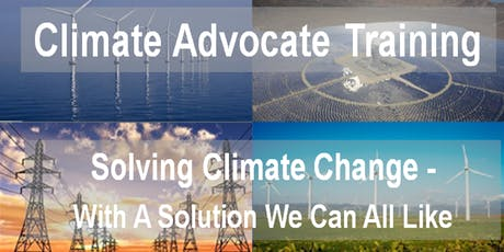CCL Climate Advocate Training tickets