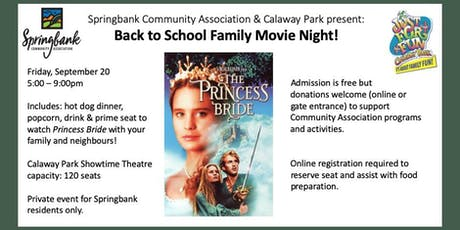 Back to School Family Movie Night at Calaway Park - 2nd Annual tickets