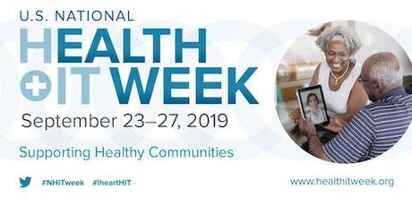 AL HIMSS 2019 National Health IT Week Reception  tickets