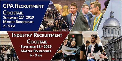 CPA and Industry Recruitment Cocktails