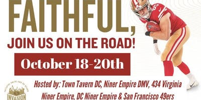 OFFICIAL 49ERS DC INVASION WEEKEND
