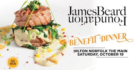 James Beard Foundation Benefit Dinner tickets