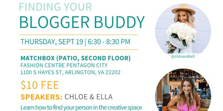 The DC Bloggers: Finding Your Blogger Buddy! tickets