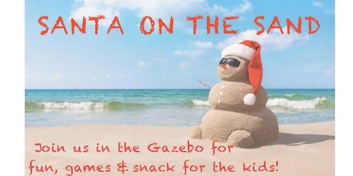 Third Annual Santa on the Sand