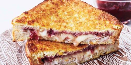 UBS Cooking School: Turkey Cranberry Monte Cristo