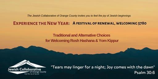 High Holidays with the Jewish Collaborative of Orange County