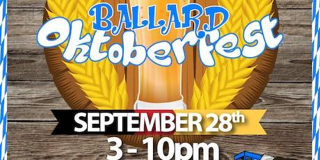 Ballard Oktoberfest tickets