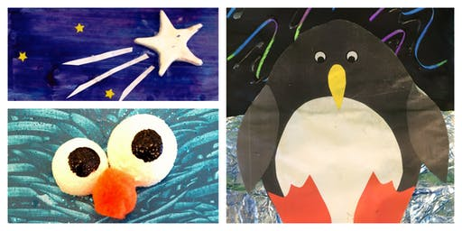 Glow Art Weekly Class (18 Months-6 Years)