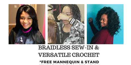 Braidless Sew- In & Versatile Crochet
