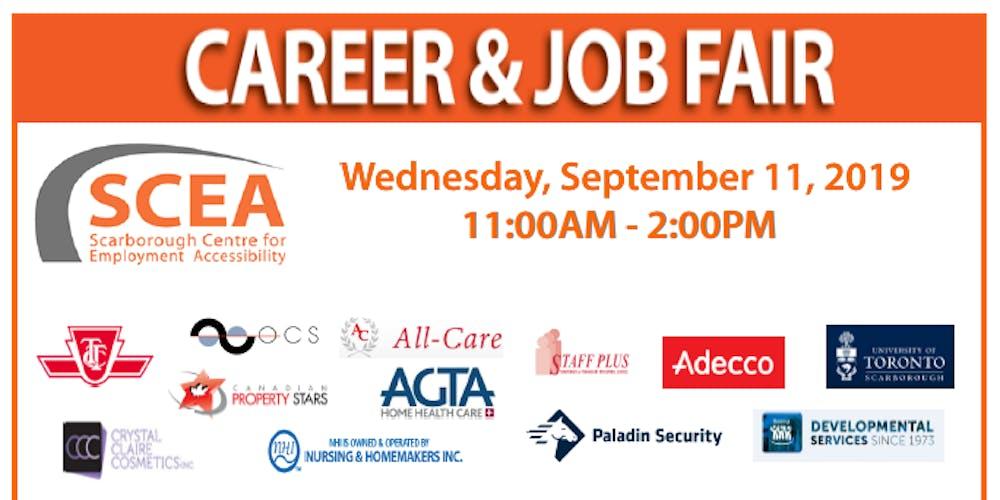 Career & Job Fair Tickets, Wed, 11 Sep 2019 at 11:00 AM