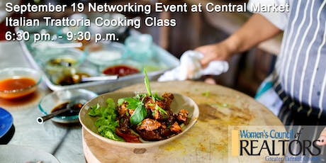 Italian Trattoria Cooking Class & Networking Event tickets