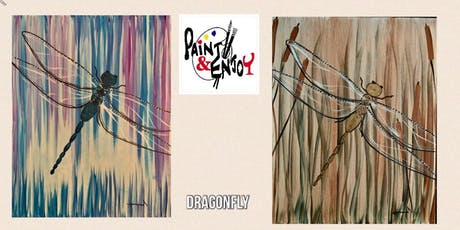 """Paint and Enjoy at Splash Supply Co. """"Dragonfly """" tickets"""