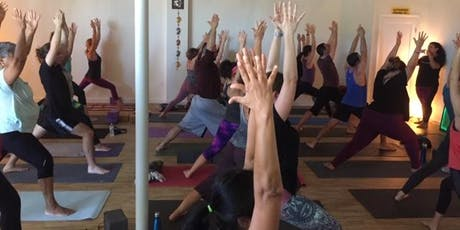 """Come Celebrate """"Om-Stead Yoga Community"""" turning 4!  tickets"""
