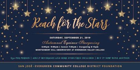 Reach for the Stars - Autumnal Equinox Stargazing Fundraiser tickets