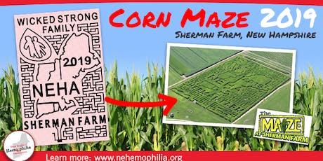 Grand Opening: Corn Maze for NEHA at Sherman Farm tickets