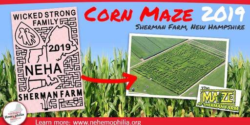 Grand Opening: Corn Maze for NEHA at Sherman Farm