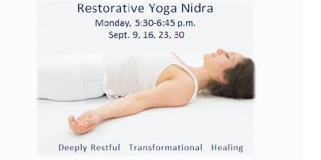 Yoga Nidra Restorative Rejuvenation tickets