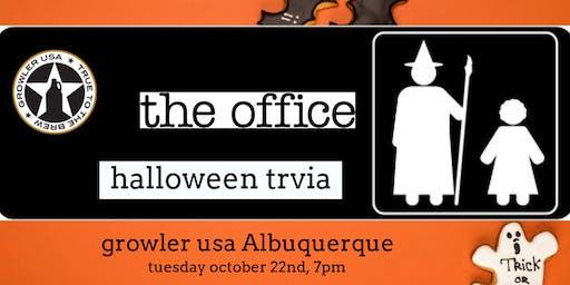 The Office Trivia (Halloween Episodes) at Growler USA Albuquerque