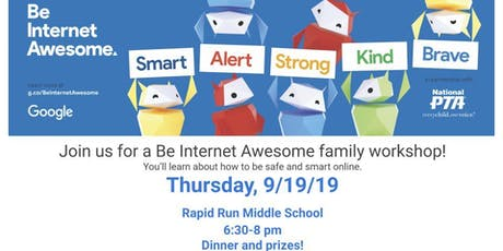 Google - Be Internet Awesome Family Workshop tickets