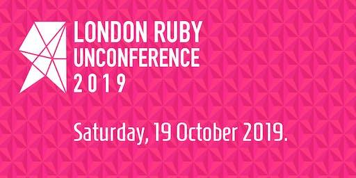 London Ruby Community Unconference 2019