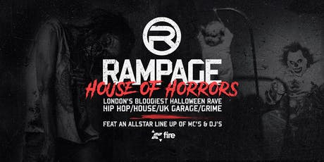Rampage Sound Halloween House of Horrors tickets