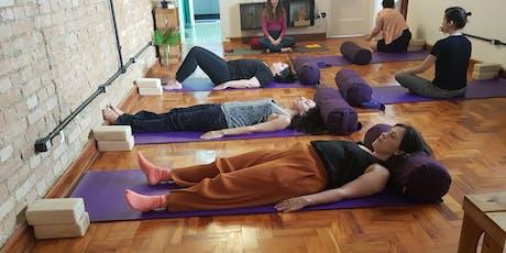 Yoga na DUXcoworkers - Noite ingressos