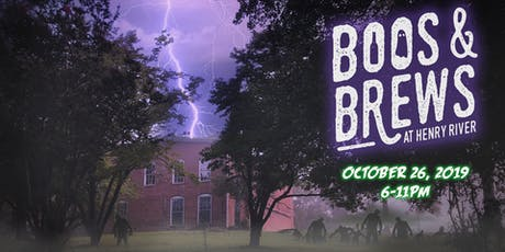 Boos & Brews at Henry River Mill Village (October 26, 2019) tickets