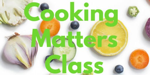 Cooking Matters Class (Portland)