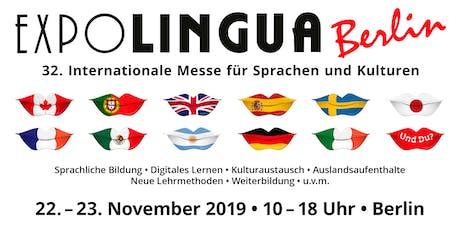 EXPOLINGUA Berlin 2019 tickets