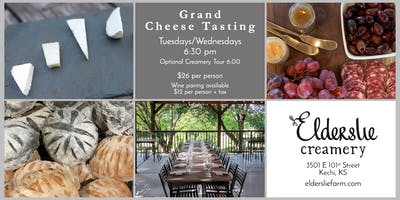 Grand Cheese (and Wine) Tasting