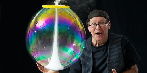 Family Fun! THE AMAZING BUBBLE MAN - December 8, 2019